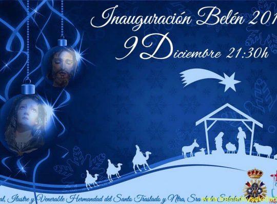 Inauguración del Belen