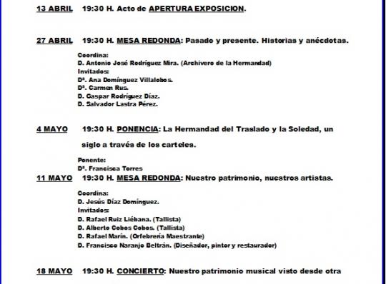 EXPOSICION Y ACTOS A CELEBRAR EN AMBITO CULTURAL DE EL CORTE INGLES