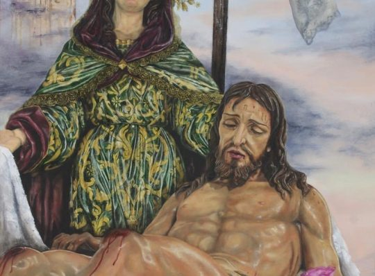 Cartel anunciador de Nuestro Piadoso Vía Crucis 2019