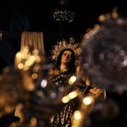 Salida del Santo Traslado y Nuestra Señora de la Soledad. Viernes Santo 2020.